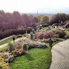 Parc de Belleville 20ème --one of the best (yet lesser known) views of the city!