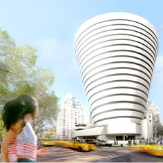 Guggenheim Extension Story by Oiio Architecture Office.