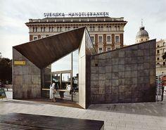 Strömkajen ferry terminals on the waterfront: http://www.playmagazine.info/stromkajen-ferry-terminals-on-the-waterfront/