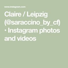 Claire / Leipzig (@saraccino_by_cf) • Instagram photos and videos Polymers, Claire, Photo And Video, Videos, Photos, Instagram, Leipzig, Pictures