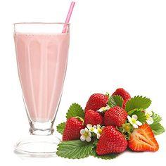 Erdbeer Geschmack Proteinpulver Vegan mit 90% reinem Protein Eiwei� L-Carnitin angereichert f�r Proteinshakes Eiwei�shakes Aspartamfrei (1 kg)