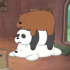 3 Easy to Teach Dog Tricks We Bare Bears Wallpapers, Panda Wallpapers, Cute Wallpapers, Bear Wallpaper, Disney Wallpaper, Cartoon Wallpaper, 3 Bears, Cute Bears, Panda Dog