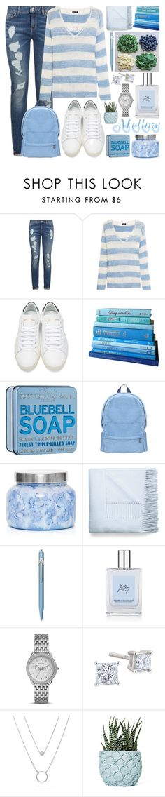 """2nd Quarter mellow..."" by bleucabbage ❤ liked on Polyvore featuring Splendid, Yves Saint Laurent, Capri Blue, Acne Studios, Caran D'Ache, philosophy, FOSSIL and Chen Chen & Kai Williams"