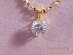 Gorgeous handmade pendant in gold filled American by Itemsofcolor, $19.00