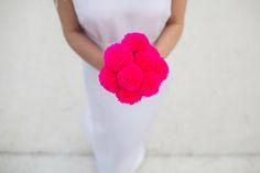 mon mariage: mon pompon bouquet