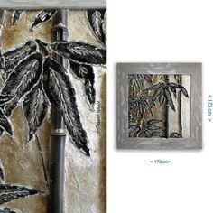 Quadro in mosaico e Malta a vista Bamboo Gold di ClassMosaic, €1179.00