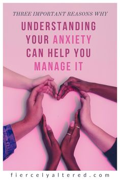 The best thing you can do in the process of overcoming your anxious symptoms is to understand them. Here are three reasons why + real life examples.