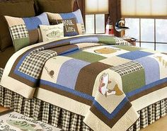 Hook, Line, & Sinker Fishing Quilt Collection