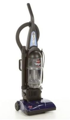 Bissel Powerforce Bagless Upright Vacuum Easy-empty Dirt Container Stretch Hose 20' Power Cord. Washable Filters Lightweight Powerful Suction. uses less energy than a typical full-sized upright model. On-board tools. 5 Height Adjustments.  #Bissell #Home