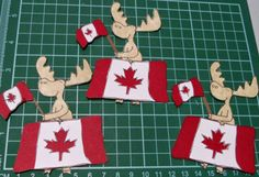 In My World . . .: Paper Piecing: Canada Moose