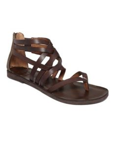 Lucky Brand Shoes, Heda Gladiator Sandals - Sandals - ...