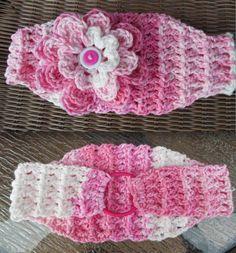 Classic Crochet Stretch Headband