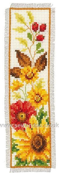 Shop online for Autumn Flowers Bookmark Cross Stitch Kit at sewandso.co.uk. Browse our great range of cross stitch and needlecraft products, in stock, with great prices and fast delivery.