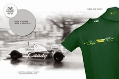 "Rescue t-shirt design Ayrton Senna. ""You must always try to be better and better."" Ayrton Senna was a racing icon of his generation, adored by millions of fans around the world. His duels with Alain Prost were the highlights of Formula One races in the beginning of the Nineties. He always pushed his car to the limit. He met his end in a tragic crash at the San Marino Grand Prix. http://www.rescuefashion.com/en/%7BT-SHIRTS%7D19-ayrton-senna.html#/size-m/color-dark_green"