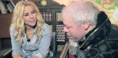 WATCH: Kari of Pertti Kurikan Nimipäivät interviews Krista Siegfrids