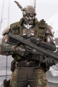 "toyhaven: Incoming: Hot Toys MMS269 ""Appleseed Alpha"" 1/6 scale Briareos Hecatonchires 33 cm Figure"