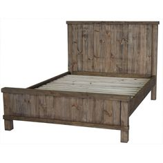 Features:  -Country collection.  -Material: 100% Pine wood.  Frame Material: -Wood.  Headboard Included: -Yes.  Footboard Included: -Yes.  Finish or Fabric: -Brown. Dimensions:  -Clearance (Floor to t