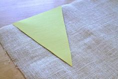Everyday Moments: DIY Burlap Banner (no sew)