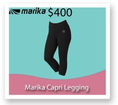 You will be living in these Marika Capri leggings once you hit the $400.00 fundraising mark!! http://fb.me/1gj7DqqcO
