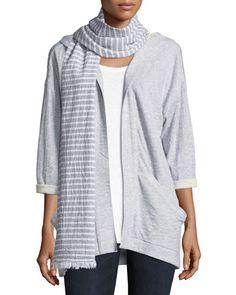 Eileen Fisher Petite White Beige Cotton Linen Full Zip Pocket Knit Sweater Sz Pl Regular Tea Drinking Improves Your Health Panties