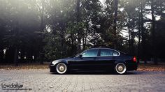 BMW 3 stanced Е46 | Lowdaily