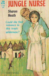 Jungle Nurse- looks like she found romance in the tropical wilderness