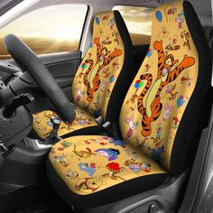 Pooh piglet car seat covers winnie the pooh car seat covers