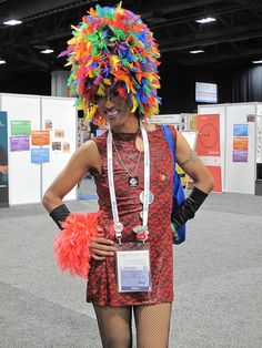 Striking a pose in the Global Village at the International #AIDS Conference (#AIDS2012) in Washington, DC.