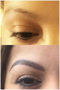 From nada to Prada Microblading Eyebrows, Tattoo Removal, Permanent Makeup, Makeup Cosmetics, 3 D, Eyeliner, Prada, Make Up, Lips