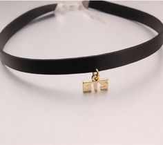 BTS Bangtan Boys Army Korean Gold Leather Choker Collar Necklace #BTS #BangtanBoys #Army #Korean #Gold #Leather #Choker #Collar #Necklace #KIDOLSTUFF