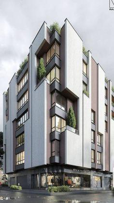Social Housing Architecture, Factory Architecture, China Architecture, Architecture Building Design, Facade Design, Concept Architecture, Residential Architecture, Exterior Design, Terrace Building