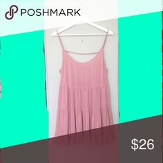 Brandy Melville Pink Blush Jada Dress New Pink Jada dress! No tags, no flaws. Offers welcome! Brandy Melville Dresses Mini