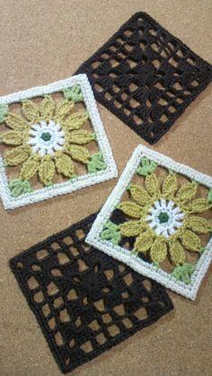 お花畑のロマンティックキルト42 おばあちゃんの花畑の画像 | 野の花手芸噺