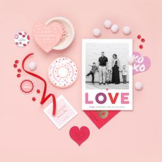 Share a little love this Valentine's Day with an unique Valentine's Day photo card design from Minted.