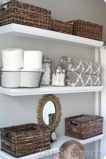 Bath organizing and decoration