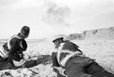 Soviet Marines of the Soviet Naval Infantry target an Axis position during the Siege of Sevastopol. The campaign was fought by the Axis powers of Germany, Romania, Italy, Bulgaria and the Independent. Eastern Front Ww2, Battle Of Stalingrad, Central And Eastern Europe, Military Units, Total War, Red Army, Soviet Union, World War Two, Marines