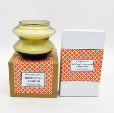 #madameluna #lunac #gift #scentedcandles #orangeisthenewblack #oriental #amber #candlecareset #designer Essential Oil Blends, Essential Oils, Luxury Candles, Paraffin Wax, Orange Is The New Black, Candle Making, Scented Candles, Oriental, Fragrance
