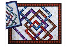 You'll love the Interwoven Squares quilt pattern, an asymmetrical contemporary quilt that can be customized to suit any theme.