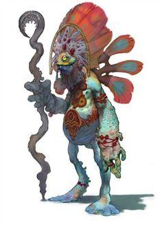 Witch Doctor | Eu Curto!: criaturas | Pinterest