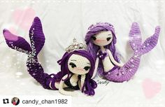 Mermaid Ava Crochet Activity: Fantastic work done by @candy_chan1982 . Love the details so... much! Thank you for your participation.
