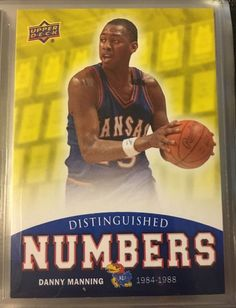 2013 Upper Deck Jayhawks Distinguished #'s Danny Manning.Near Mint. Combined S&H  | eBay