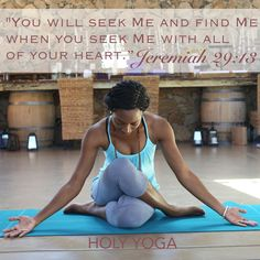 """To fall in love with God is the greatest of all romances; to seek Him is the greatest adventure; to find Him is the greatest human achievement."" [Unknown] #holyyoga #fallingforhim #yoga #yogainspiration #yogaeveryblessedday"