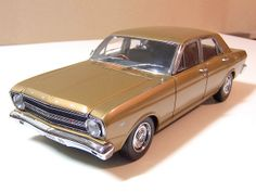 1967 Ford Falcon XR GT gold