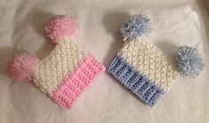 Chunky hat with alternating front post trebles to give a chunky textured hat