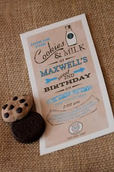 So classic and easy #kid birthday parties