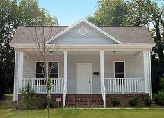 A wide front porch and open floor plan are the hallmarks of this lovely Cottage home plan. The living room has a vaulted ceiling and is open to the kitchen and dining room. Off to the rear, the master suite is secluded and enjoys its own private bath and walk-in closet.