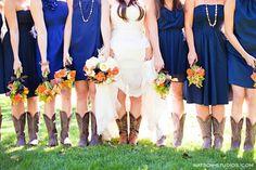 Rustic Blue Bouquet Fall Flowers Short Wedding Flowers Photos & Pictures - WeddingWire.com