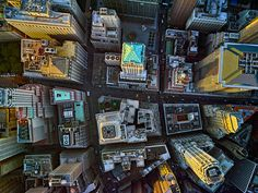 <p>Lower Manhattan is depicted here.</p>