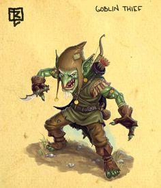 Goblin Thief design by ArtDeepMind.deviantart.com on @deviantART