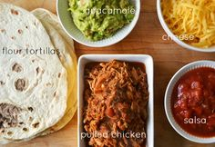 Pulled Chicken Tacos - slow cooker method. Sounds like  a good plan. Boneless skinless chix thighs are a mainstay in my house.